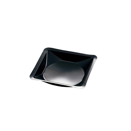 アズワン ウェニングボート 140×140×22mm 非帯電 黒 500枚入 1袋(500枚入り) [3-6027-09]