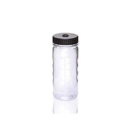 アズワン PC広口ボトル(オートクレーブ対応) 400mL 12本入 1パック(12本入り) [3-8983-08]