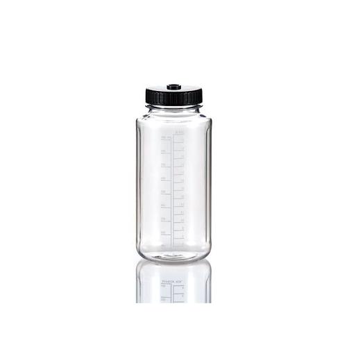 アズワン PC広口ボトル(オートクレーブ対応) 1000mL 12本入 1パック(12本入り) [3-8983-10]