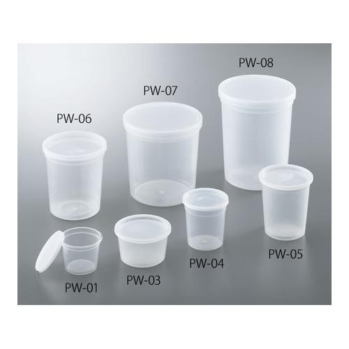 アズワン ディスポPPサンプル保存容器 863mL 100個入 1箱(100個入り) [4-781-06]