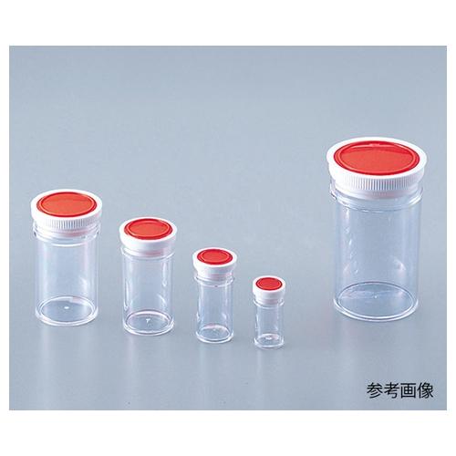 アズワン ラボランスチロール棒瓶 120mL 50+5本入 1箱(55本入り) [9-850-08]
