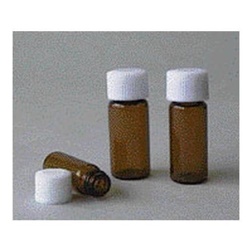 アズワン スクリュー管瓶 9mL 褐色 SCC(純水洗浄処理済み) 1箱(20本×5袋入り) [7-2222-02]