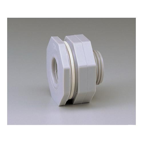 アズワン パイプ接続用フィッティング 2 1/2インチ EPDMパッキン 1個 [5-326-05]