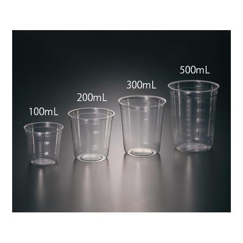 アズワン ディスポPPクリアカップ 300mL 1箱(500個入) 1箱(500個入り) [1-2957-03]
