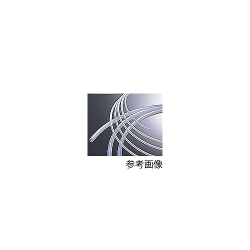 アズワン ナフロン(R)PTFEチューブ(インチサイズ) 11/64×1/4φインチ(4.35×6.35φmm)(10m) 1巻 [2-799-05]