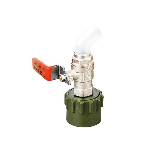 アズワン ワンタッチ給油栓(コッくん(R) ) レッド タイプB 口径40 1個 [1-3833-01]