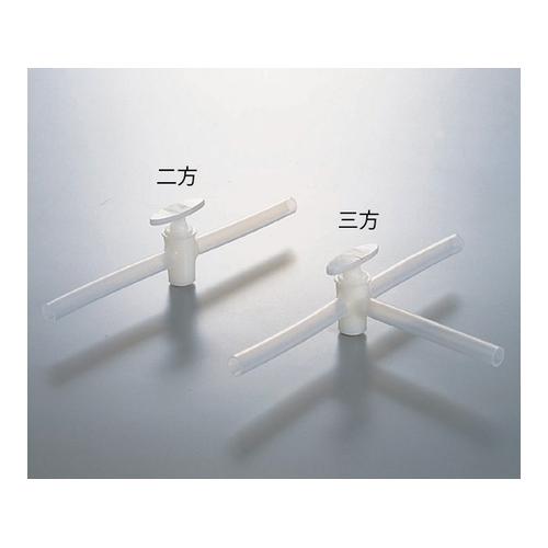 アズワン 三方活栓 PE製 15×11 1個 [6-680-04]