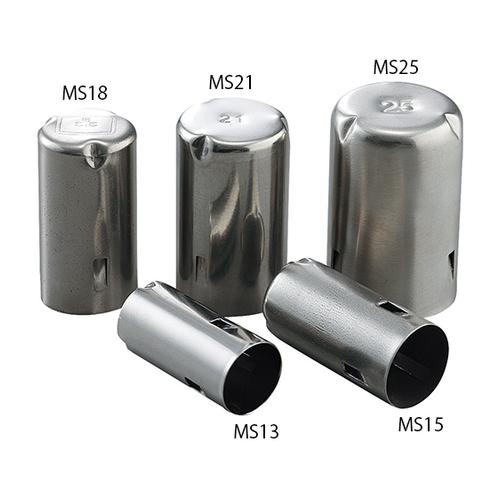 アズワン ステンレスモルトン栓 21Φmm用 MS21 1袋(50個入り) [7-4870-04]