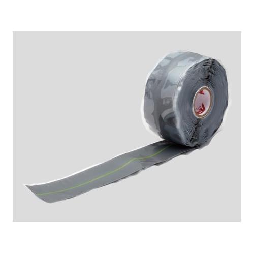 アズワン アーロンテープ(R)(配管修理テープ) 38mm×6m グレー 1巻 [2-9334-04]