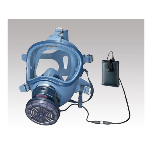 アズワン 電動ファン付呼吸用保護具 ナノマテリアル対策用 電池・充電器付き 1個 [1-1994-02]