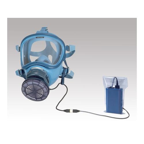 アズワン 電動ファン付呼吸用保護具 石綿用 電池・充電器付き 1個 [1-8833-03]