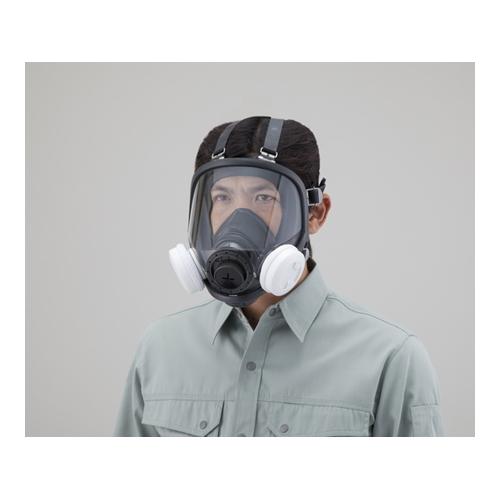 アズワン ナノマテリアル用防じんマスク 全面形タイプ 1個 [2-2885-01]