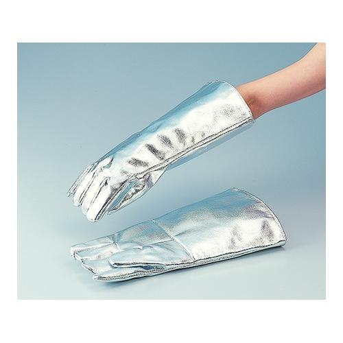 アズワン 耐熱手袋 アルミカーボン ケブラー(R) 1双 [6-943-01]