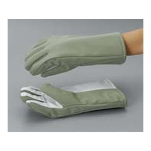 アズワン 超低温用手袋 手の平滑止付 レギュラーサイズ 350mm 1双 [8-5316-02]