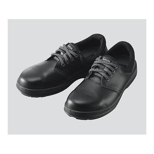 アズワン 安全靴 黒 25.5cm 1足 [3-1782-08]