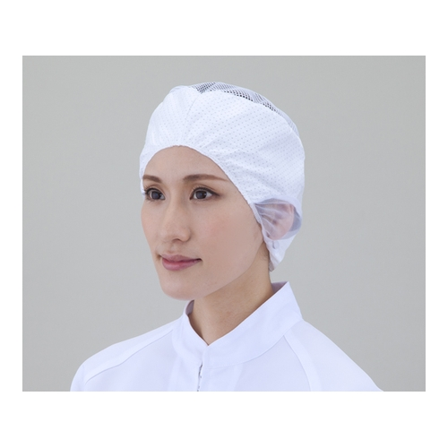 アズワン 電石帽 長髪用 20枚入 1袋(20枚入り) [6-6030-03]