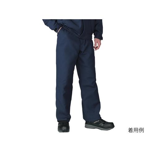 アズワン エコ制電防寒パンツ ネイビー EL 1着 [3-728-04]