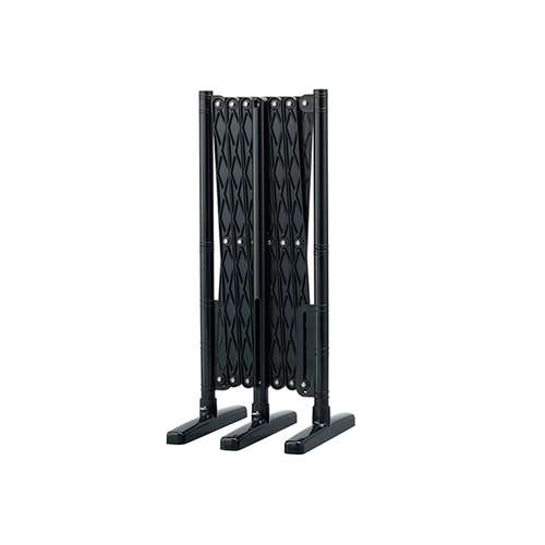 アズワン 伸縮フェンス(樹脂製) 黒 1個 [3-8780-02]