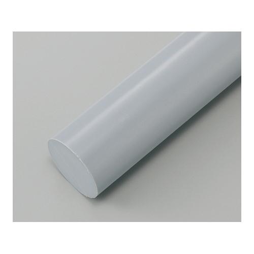 アズワン 樹脂丸棒 PVC φ90mm×1000mm 1本 [2-9589-20]