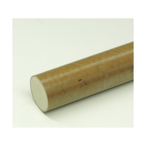 [2-9594-14] PPS 1本 樹脂丸棒 φ60mm×495mm アズワン