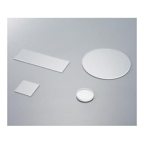 アズワン 合成石英研磨板(丸板) φ50×4 1枚 [3-2406-05]