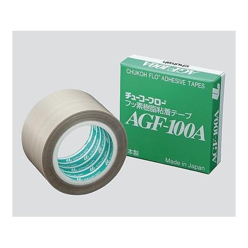 アズワン フッ素樹脂粘着テープ 100×0.18mm×10m 1個 [3-2504-07]