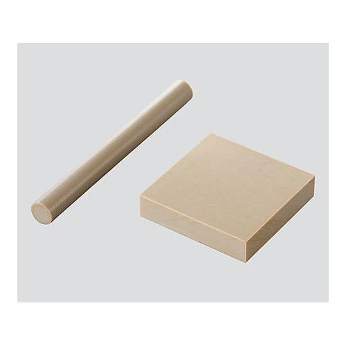 アズワン PEEK樹脂 丸棒 φ140×1000 1本 [3-3097-25]