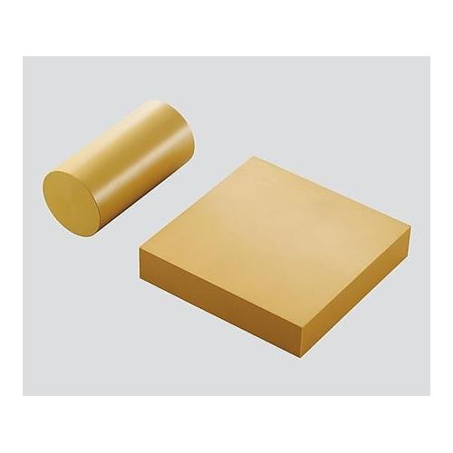 アズワン 超耐熱ポリイミド成形体(セプラ) 100×100×25 1個 [3-3210-02]