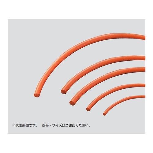 AS ONE 汎用器具 消耗品 チューブコネクタ素材 コネクター フィッティング チューブ 素材 アズワン 丸 φ13mm 赤 3-3218-09 定番キャンバス 定番スタイル シリコーンスポンジ紐 1本