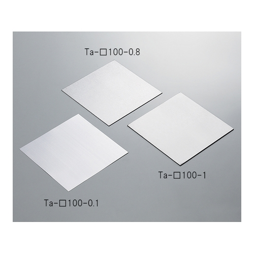 アズワン タンタル板(100×100×1.0mm) 1個 [3-5486-06]