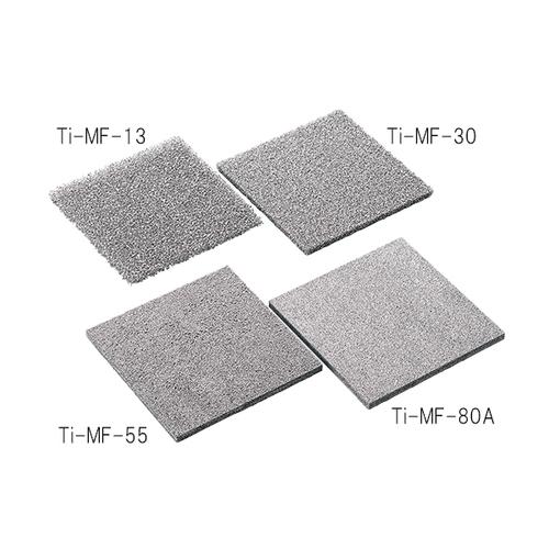 アズワン 金属多孔質体(チタン) 100×100mm 厚さ5mm 気孔径0.38mm 1個 [3-5508-08]