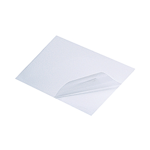 アズワン 診断機器用途向け粘着テープ 片面テープ 厚さ0.1mm 1袋(5枚入り) [3-6901-07]