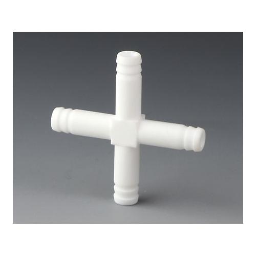 アズワン PTFEチューブコネクター(耐熱・耐薬品) 1個 [3-8253-01]