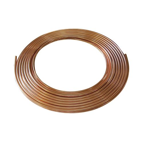 アズワン 銅管(H3300 C1220T規格品) Φ6.35mm×1.0mm×10m 1巻 [3-8552-04]