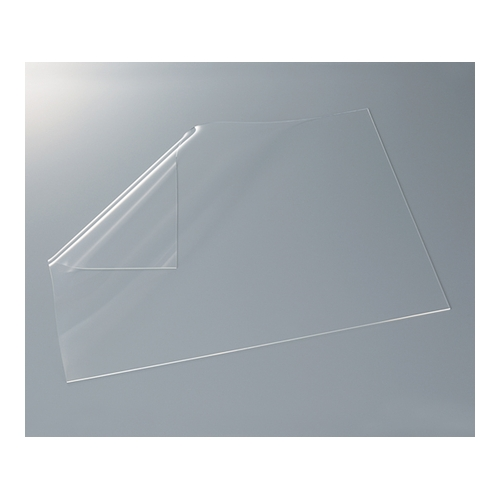 アズワン 超透明シリコーンゴムフィルム 硬度60 300×300×0.3tmm 1枚 [3-9207-07]