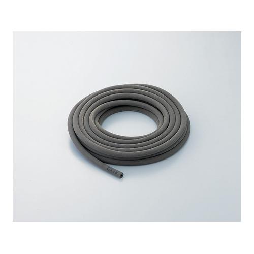 アズワン 排気用(真空用)ゴム管(布巻きフイニッシュ加工) 天然ゴム 38×75 1m [6-590-22]