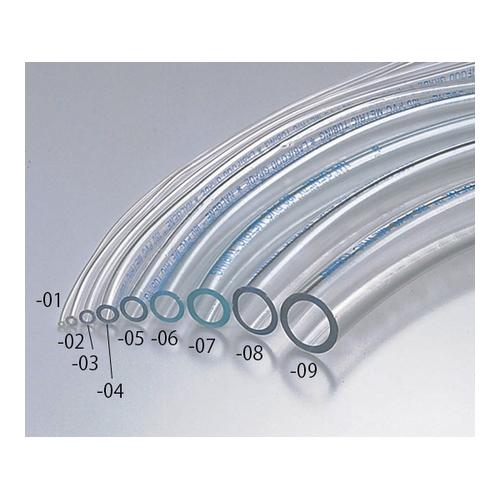 アズワン 透明PVCチューブ(ミリサイズ) φ6×φ9(25m) 1巻 [6-8236-05]