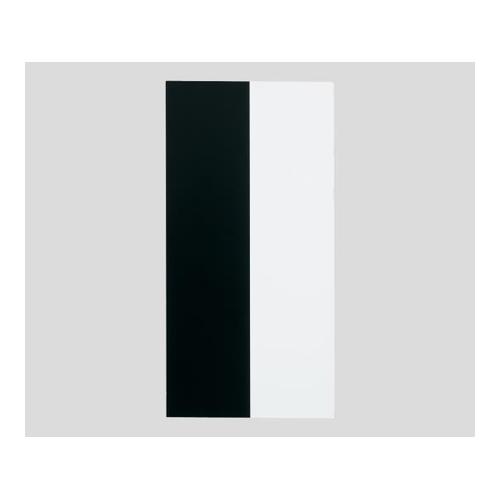 アズワン 隠ぺい率試験紙 HP板(タテ白黒) 50枚入り 1セット [1-3783-06]