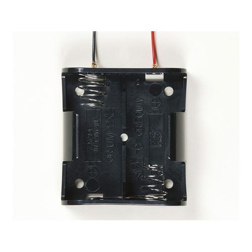 アズワン SN型電池ホルダー 1袋(50個入り) [62-8341-71]