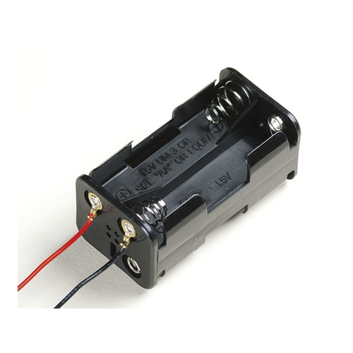 アズワン SN型電池ホルダー 1袋(50個入り) [62-8341-78]