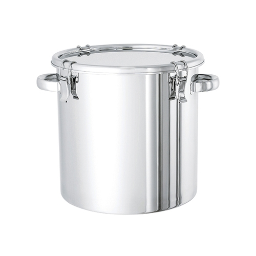 アズワン ステンレス密閉容器(電解研摩タイプ) 20L 1個 [2-8256-03]