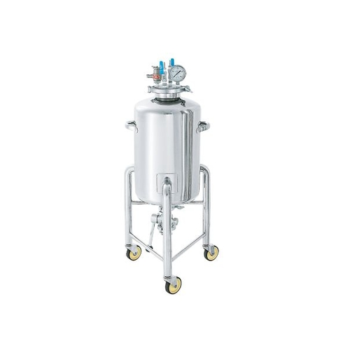 アズワン ステンレス加圧容器(加圧ユニット・脚付) 50L 1個 [3-150-05]