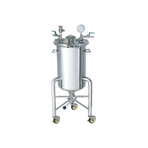 アズワン ステンレス加圧容器(加圧ユニット・脚付) 40L 1個 [3-153-04]