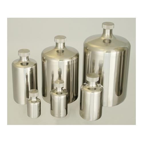 アズワン 酸洗浄処理済ステンボトル 0.2L 1個 [5-154-06]