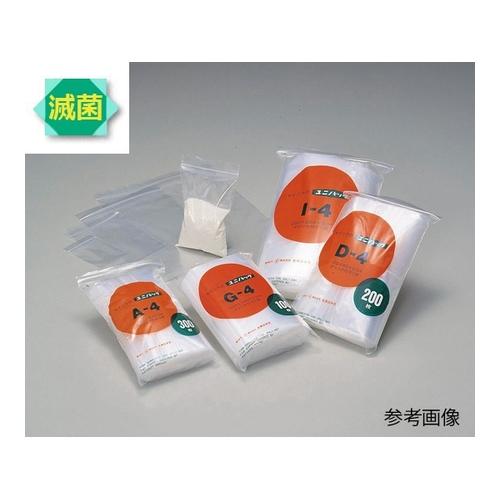 AS ONE 汎用器具 消耗品 最安値 チューブコネクタ素材 クリップ ポリ袋 B4-ST 60×85mm アズワン 1袋 ユニパック γ線滅菌済 300枚入り 6-633-32 300入 新生活