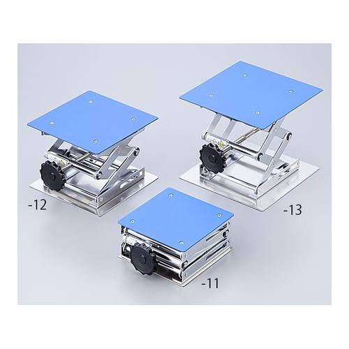 アズワン コーティングラボジャッキ(フッ素樹脂コーティング) 200×200mm 1台 [1-4641-13]