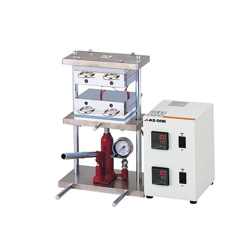 アズワン 小型熱プレス機(冷却機能付き) 0~1t 1個 [2-8157-11]