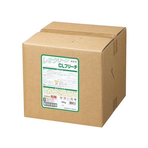 アズワン レオクリーン(施設・病院向けランドリーシステム用洗剤) CLブリーチ 20kg 1本 [7-4826-02]