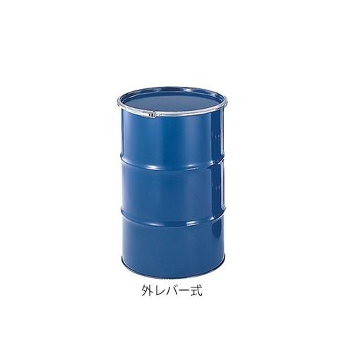 アズワン スチールドラム缶(外レバー式) 60L 1個 [3-8299-07] [個人宅配送不可]