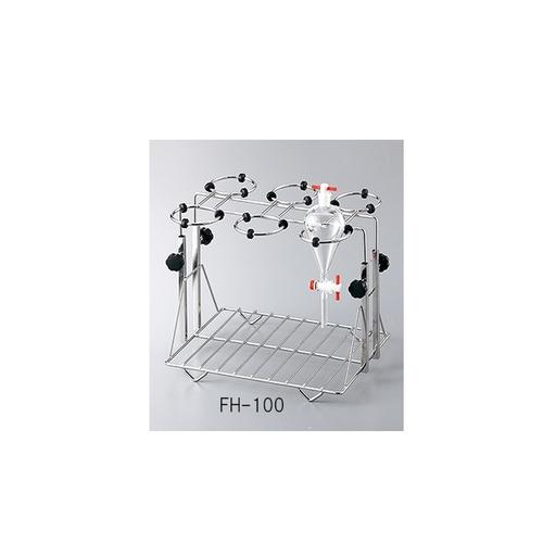 アズワン 分液ロートホルダー ステンレス製 適合容器サイズ 100~200mL 1個 [3-6726-02]